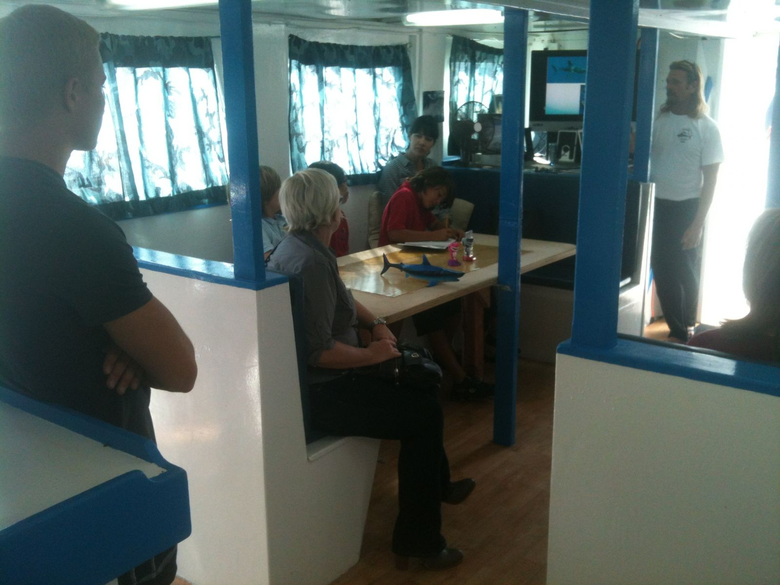 Marine Institute Students on SeaWatch - SharkBoat 6