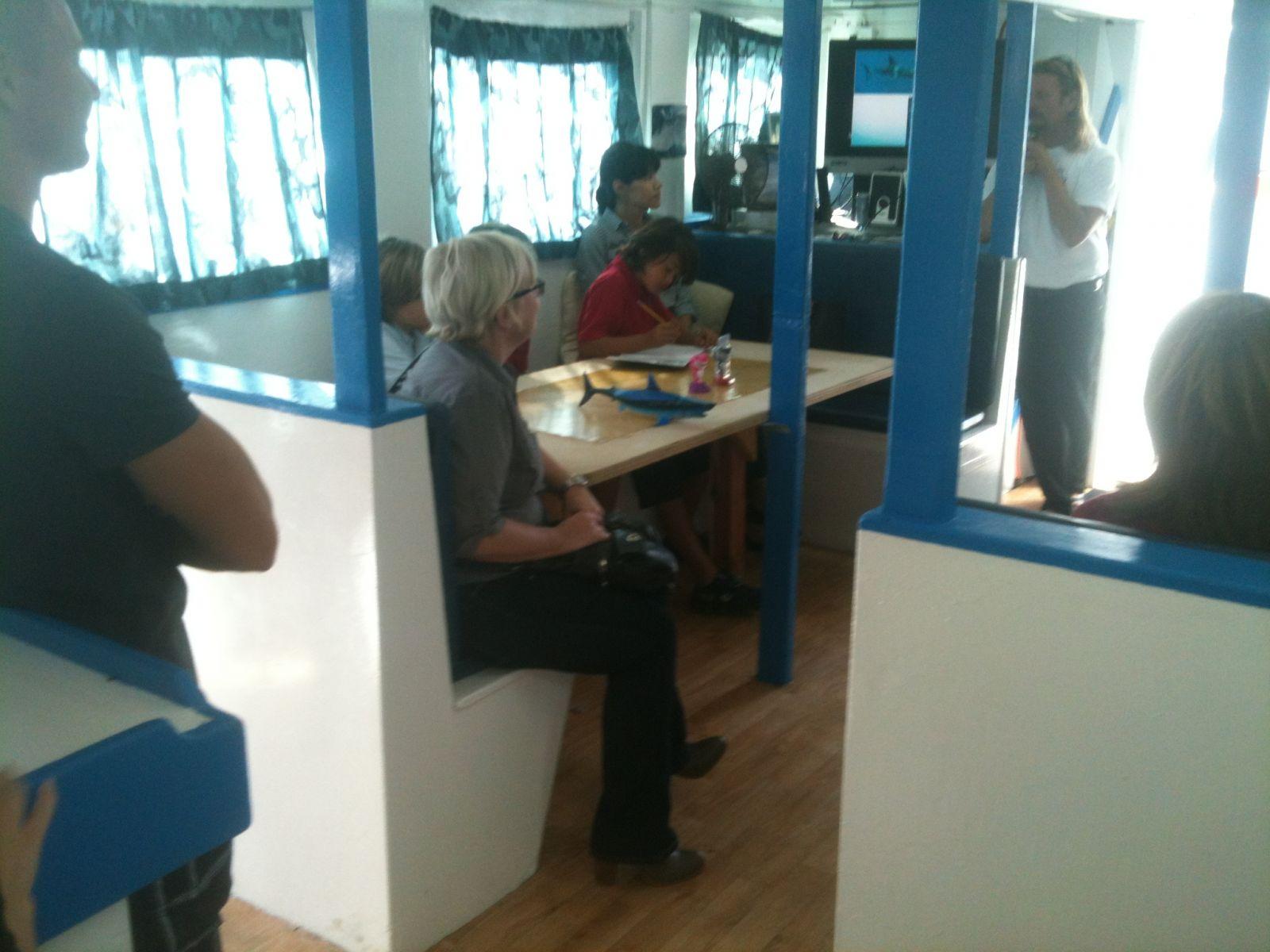 Marine Institute Students on SeaWatch - SharkBoat 7