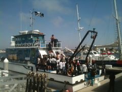 Marine Institute Students on SeaWatch - SharkBoat 14