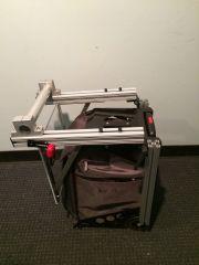 zuca cart folded side view