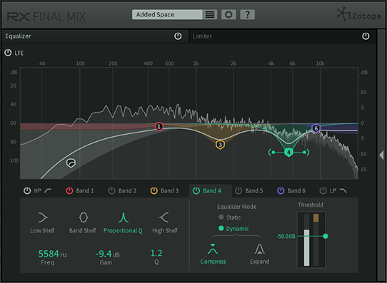 RX Final Mix - Stem & bus processing plug-in for post production
