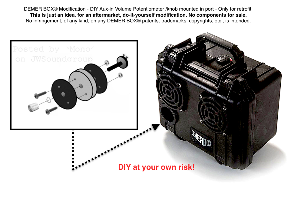 DEMER BOX® Modification - DIY Aux-in Volume Potentiometer knob mounted in port - for retrofit 2.png