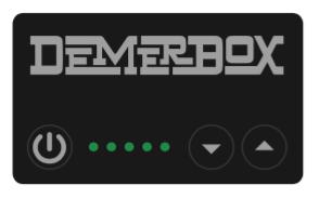 DEMER BOX® Volume control battery indicator keypad.png