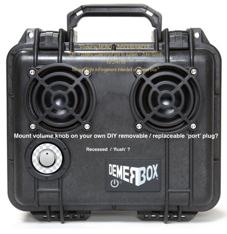 Demer box - DIY port volume knob.png